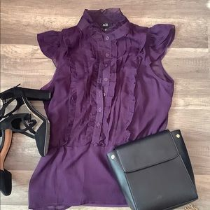 AGB Purple Blouse